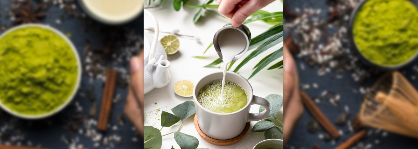 Why you should try matcha tea with milk?